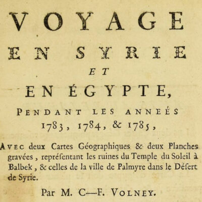 Ep. 3: Volney's Turkish plague